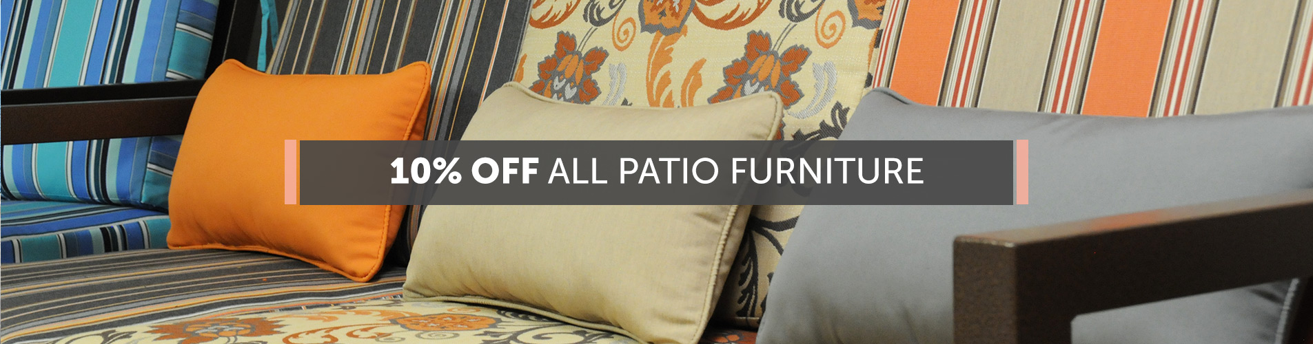 10% Off All Patio Furniture