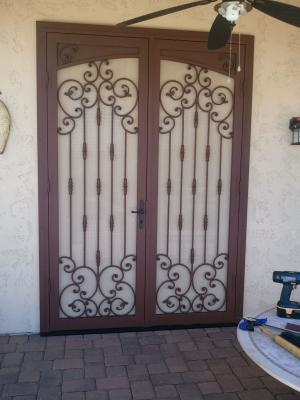 Custom 103 Double Modified Doors