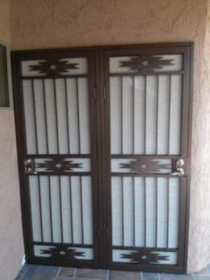 Double Amp Arcadia Style Security Screen Doors In Phoenix Az