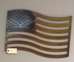 Deco Wall Art 4 - American Flag
