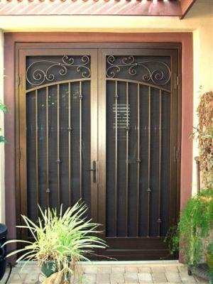 Old World 101 Double Doors