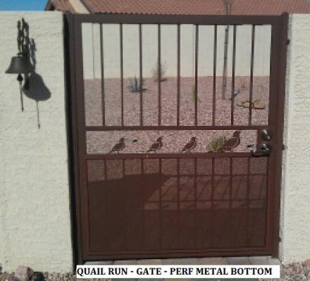 Quail Run Gate